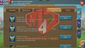 [ SALE OFF ] Account 488M – 111K Gem – 202M Research – Castle Skin SS Wyvern – 260$