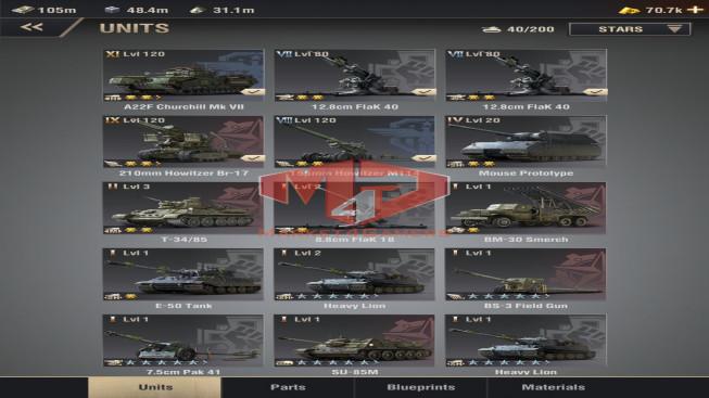wapath#36 Lv30 – 16M6 Power – Sever12 – Vip 12 – Percy max kill – 1 Units XI, 1 Units VIII, 1 Units VII