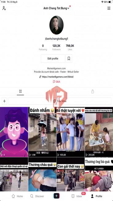 ✅ Account Verified 114.4k Followers – 762.9k Likes – Entertainment Channel