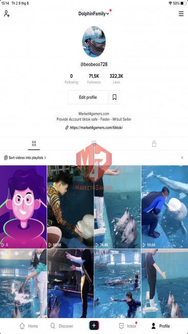 ✅ Account Verified 71.5k Followers – 322.3k Likes – Entertainment Channel