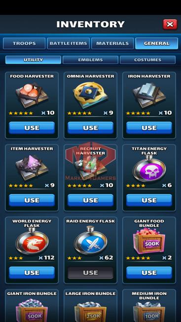 Android Lv79 – Team Power 4729 – 32 Heroes Lv80 – Troop Lv13 – Lv29