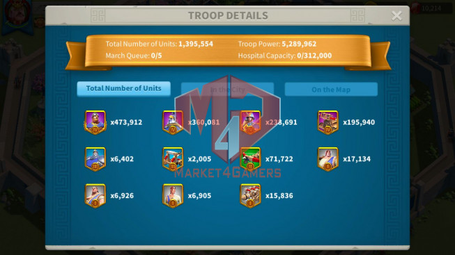 Account 32M Power ** Maxed 3 Commanders ** 2M4 Credits Alliance