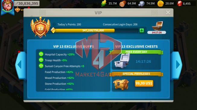 Account 30M Power ** Maxed YSG, Aethef ** 1M2 Credits