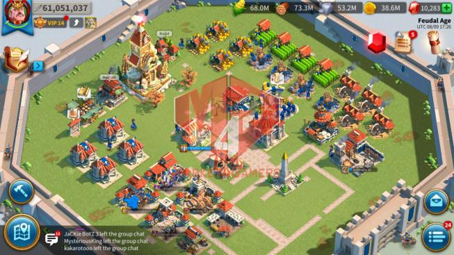 Account 61M T5 ** Maxed 4 Commanders ** 2 Farm Accounts ** 291 Gold Heads