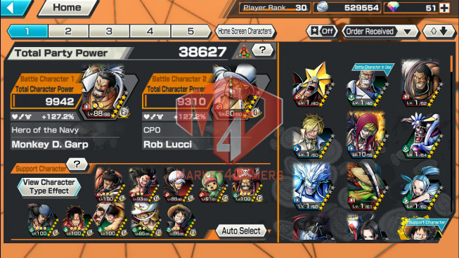 OPBR43 Android Max 1 EX Roger – shank lv 60