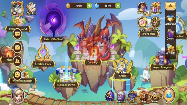 iOS – Lv310 – S41 – VIP 7 – 2 Void Heroes Halora + Xia – 18 Heroes E5 – 28 Skins – 26M6 Power