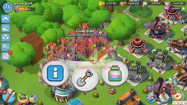 All Devices Account LV 71 I HQ 24 I 14909 Gems I Power Powder 2576