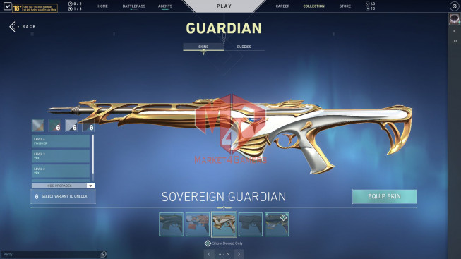 75 Skins – Prime Classic, Spectre, Guardian, Phantom, Vandal – Enderflame Operator