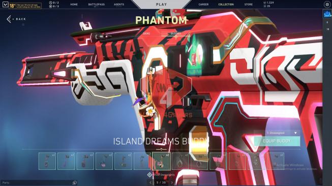 44 Skins – Prime, Elderflame Vandal – Oni Guardian – Glichpop Phantom – Reaver Operator -Prime 2.0 Karambit