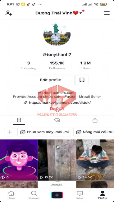 ✅ Account Verified 155.2k Followers – 1.2M Likes – Entertainment Channel