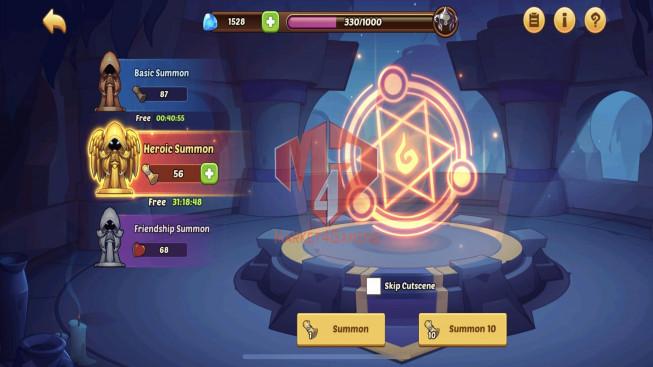 iOS – Lv142 – S1333 – VIP 6 – 1 Void Heroes Xia – 3 Heroes E5 + 1E2- 13 Skins