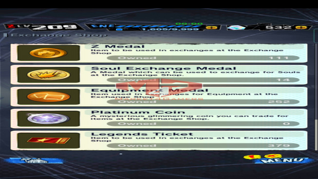 DBL68 Lv209 – 3.8M Power – 13 Legend Finish – 186 Sparking – 25 Awakening – 532 CC