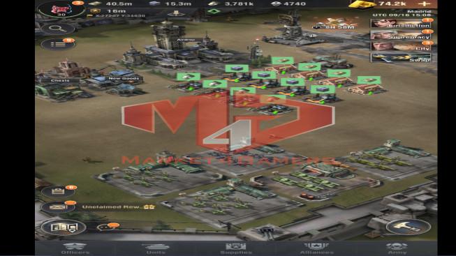 WAPA46 Lv 30 – 16M – Vip 11 – S19 – Max Percy – Spanner 4233 , Shenvchenko 4232- 1 Units X, 1 Units IX , 2 Untis VIII , 1 Untis VI