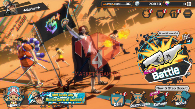 OPBR57 Android Max 2 EX Shank – Oden