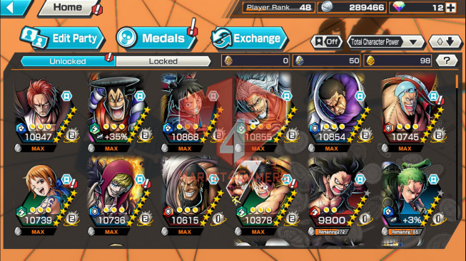 OPBR59 Android Max 2 EX Shank – Oden