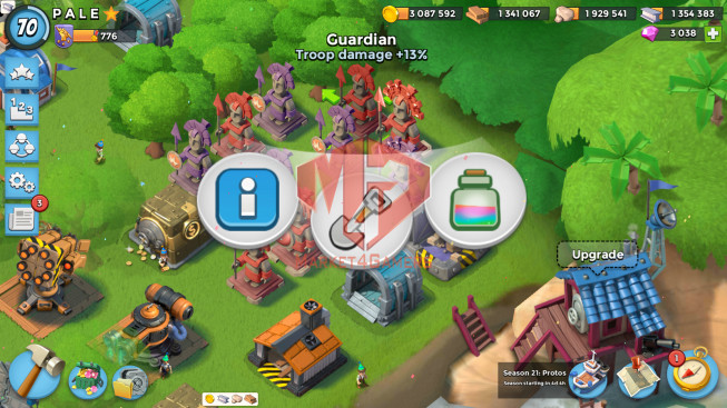 All Devices Account LV 70 I HQ 24 I 3038 Gems I Power Powder 531
