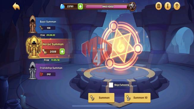 iOS – Lv248 – S113 – VIP 7 – 1 Void Heroes Xia – 9 Heroes E5 + 1E3- 23 Skins – 13M Power