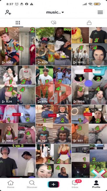 ✅ Account USA TOP MOST VIEWED 68.0k Followers – 867.7k Likes – Funny Channel – Registered Creator Fund