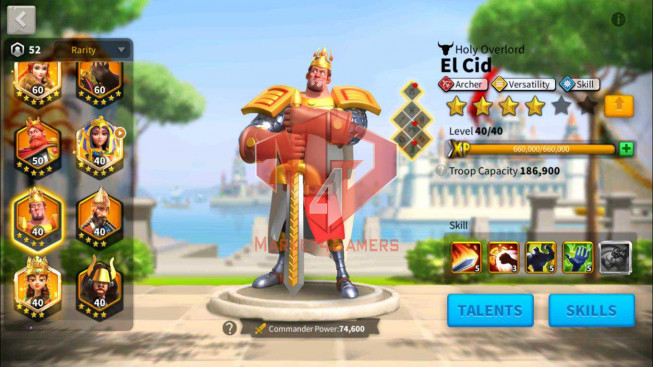 SOLD Account 103M Power ** Maxex 9 Commanders ** 2 Farm Accounts