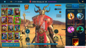 All Devices Account 1M5 Power ** Lvl 69 ** 13 Heros Legend
