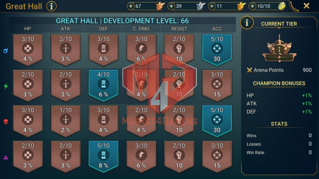 All Devices Account 1M6 Power ** Lvl 72 ** 12 Heros Legend