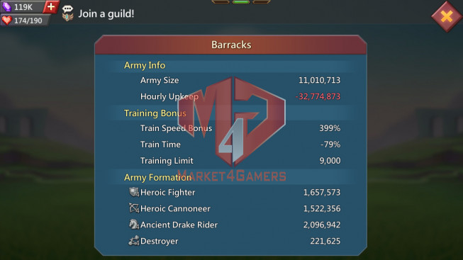 703M   Kd:140   Research 361M   Troops 11M  