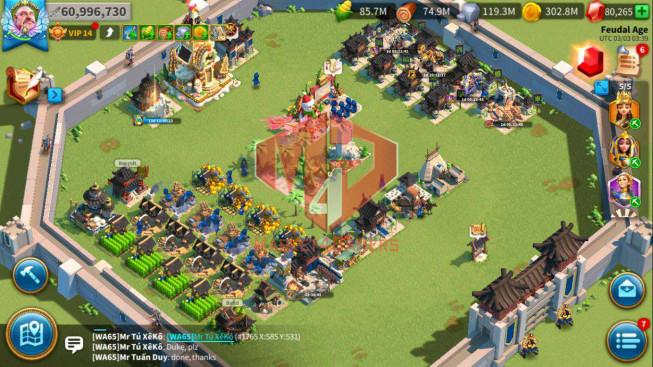 Account 61M Power ** Maxed 4 Commanders ** Farm Account ** 80K Gems