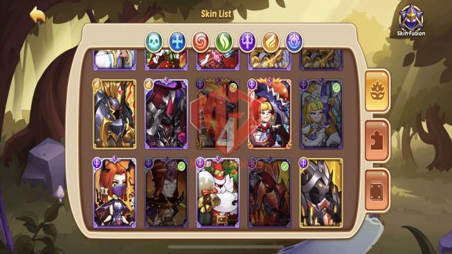 iOS – Lv259 – S125 – VIP 10 – 4 Void Heroes Xia , Halora , Jahra , Asmodel – 15 Heroes E5 – 43 Skins – 22M Power