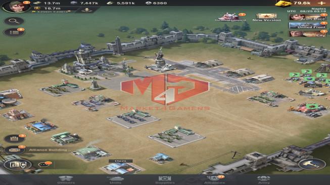 WAPA49 Lv 30 – 16M7 – vip 12 – S19 – Max Percy – Shevchenko 3333 – 1 Units X, 3 Units IX, 1 Units VIII