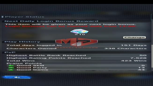 DBL71 Lv173 – 3.9M Power – 12 Legend Finish – 175 Sparking – 22 Awakening