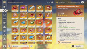 AR 52 – Xiao + Venti + Keqing + Klee + RAZOR LV 80 – 3 weapon 5 star LV 90 – 150$