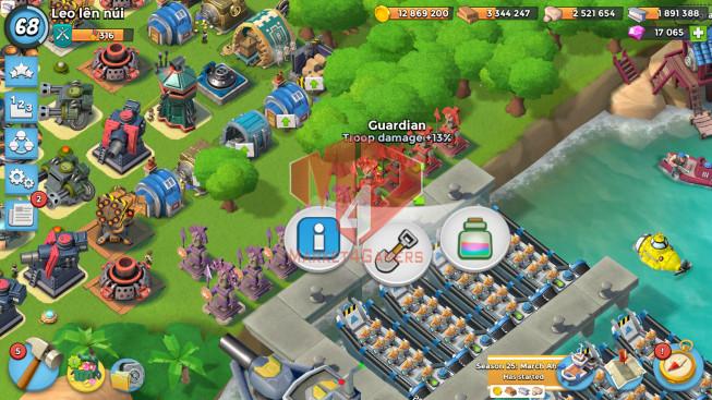 All Devices Account LV 68 I HQ 24 I 17000 Gems I Power Powder 2435