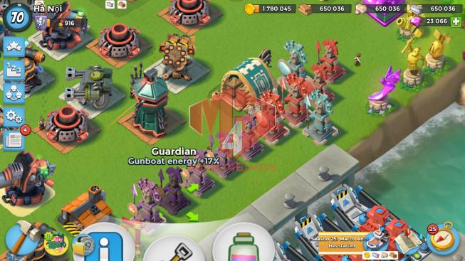 All Devices Account LV 70 I HQ 24 I 23000 Gems I Power Powder 785