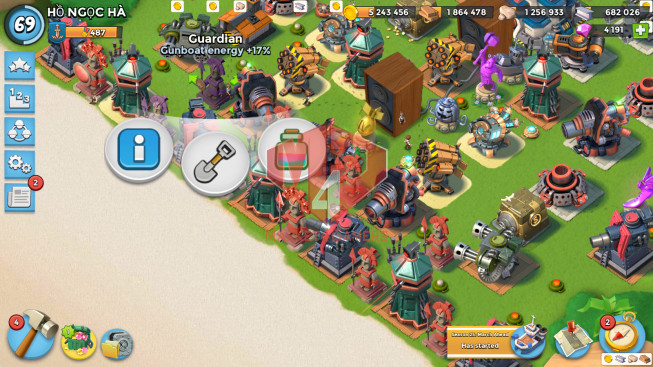All Devices Account LV 69 I HQ 24 I 4191 Gems I Power Powder 679