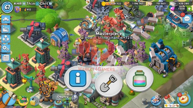 All Devices Account LV 67 I HQ 24 I 1559 Gems I Power Powder 1149