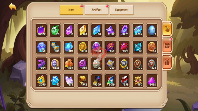 Android – Lv134 – S877 – VIP 0 – 3 Heroes E5 + 1 Heroes E3 – 21 Skins – 5M7 Power