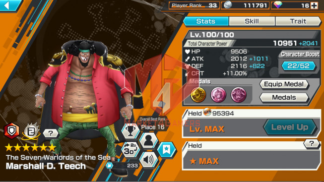 OPBR67Android Max 1 EX Teech