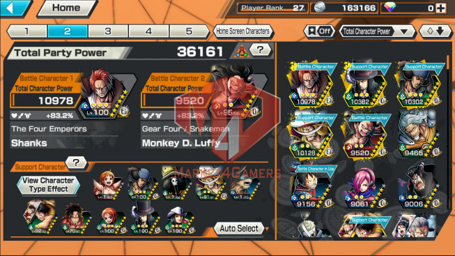 OPBR69 Android Max 1 EX Shank