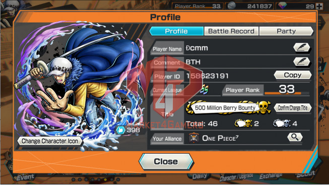 OPBR72 Android Max 1 EX Roger