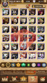 AFK 1020M – Vip 12 — S37 — 68 Heroes Ascended – 9 Dimensional Heroes