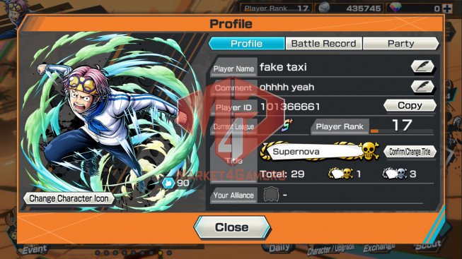 OPBR77 Android Max 1 EX Roger