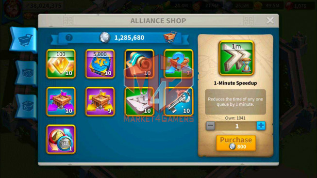 SOLD Account 38M Power ** Maxed 3 Commanders ** 1M2 Credits