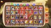 Android – Lv232 – S48 – 2 Void Heroes Halora – Xia – 10 Heroes E5 + 1 Heroes E2 + 1 Heroes E1 – 20Skins – 18M3 Power