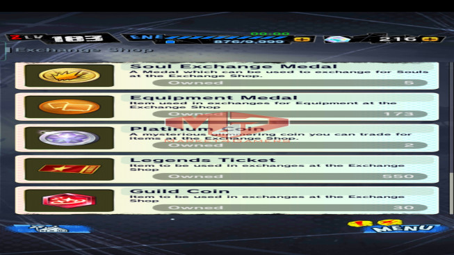 DBL78 Lv183 – 4.0M Power – 9 Legend Finish – 161 Sparking – 17 Awakening – 216 CC