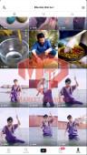 ✅ Account Verified 56.7k Followers – 274.1k Likes – Food Channel – Turn on Live Stream