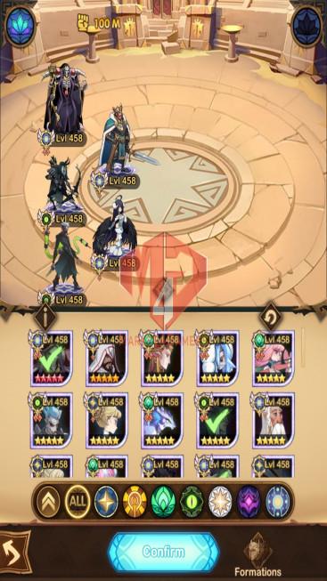 AFK 1048M – Vip 10 – S 102 – 63 Heroes Ascended – 10(Full) Dimensional Heroes
