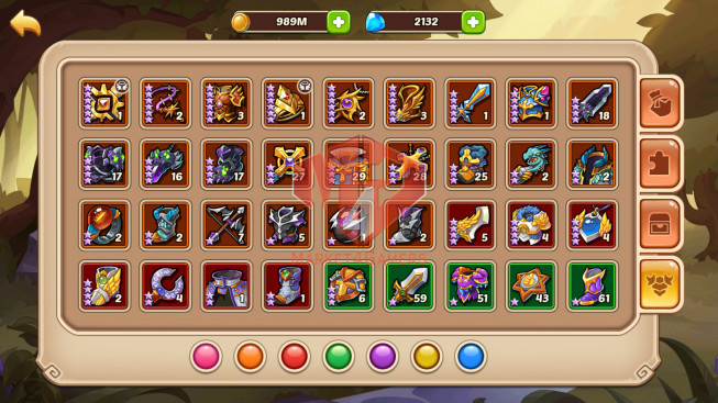 [SOLD].Android – lv 276 – vip 4 – 1 HeroVoid – 11 Heroes E5 – 7M5 POWER – 44 SKINS