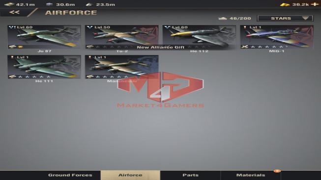 WAPA59 Lv 31 – 21M – Vip 12 – S15 – Max Percy – Shevchenko 4454 – 5 Units IX