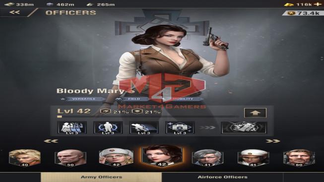 WAPA62 Lv 30 – 19M – Vip 12 – s18 – Max Percy, Shevchenko 5444 – Mary 3333 – 3 Units X, 1 Units VIII