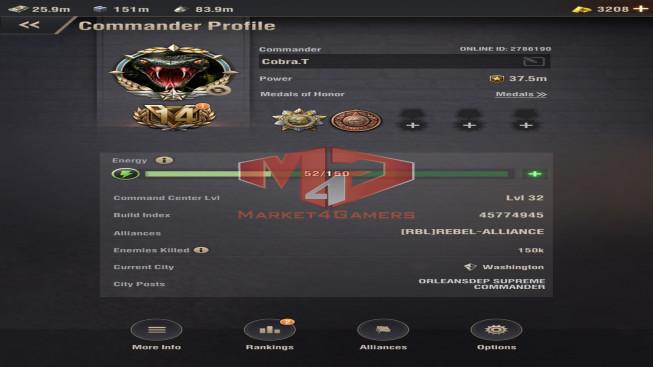 WAPA65 Lv 32 – 37M5 – Vip 14 – s6 – Max Machine , Percy , Eruptor , Shenvchenko – 2 Untis XII – 1 Untis X